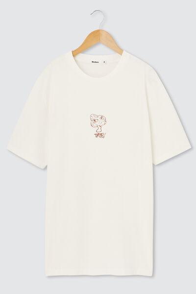 T-shirt imprimé champignon
