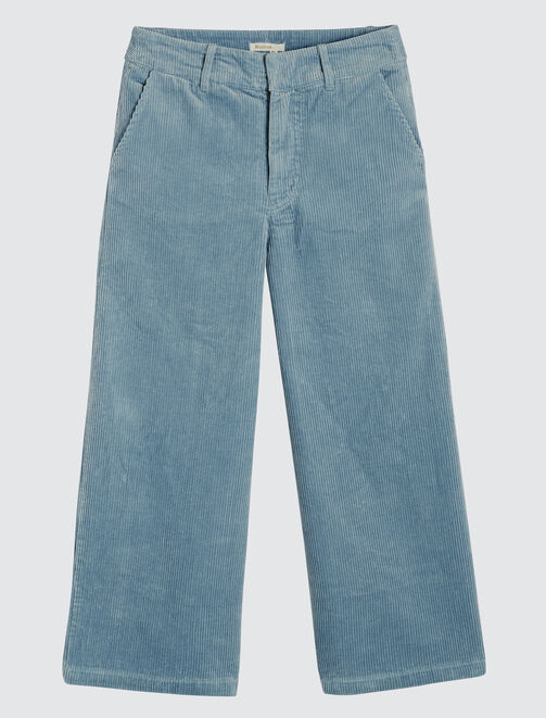 Pantalon cône velours femme