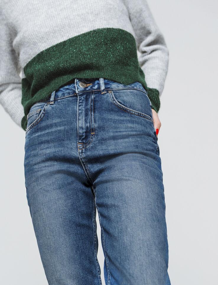 Jean slim taille haute