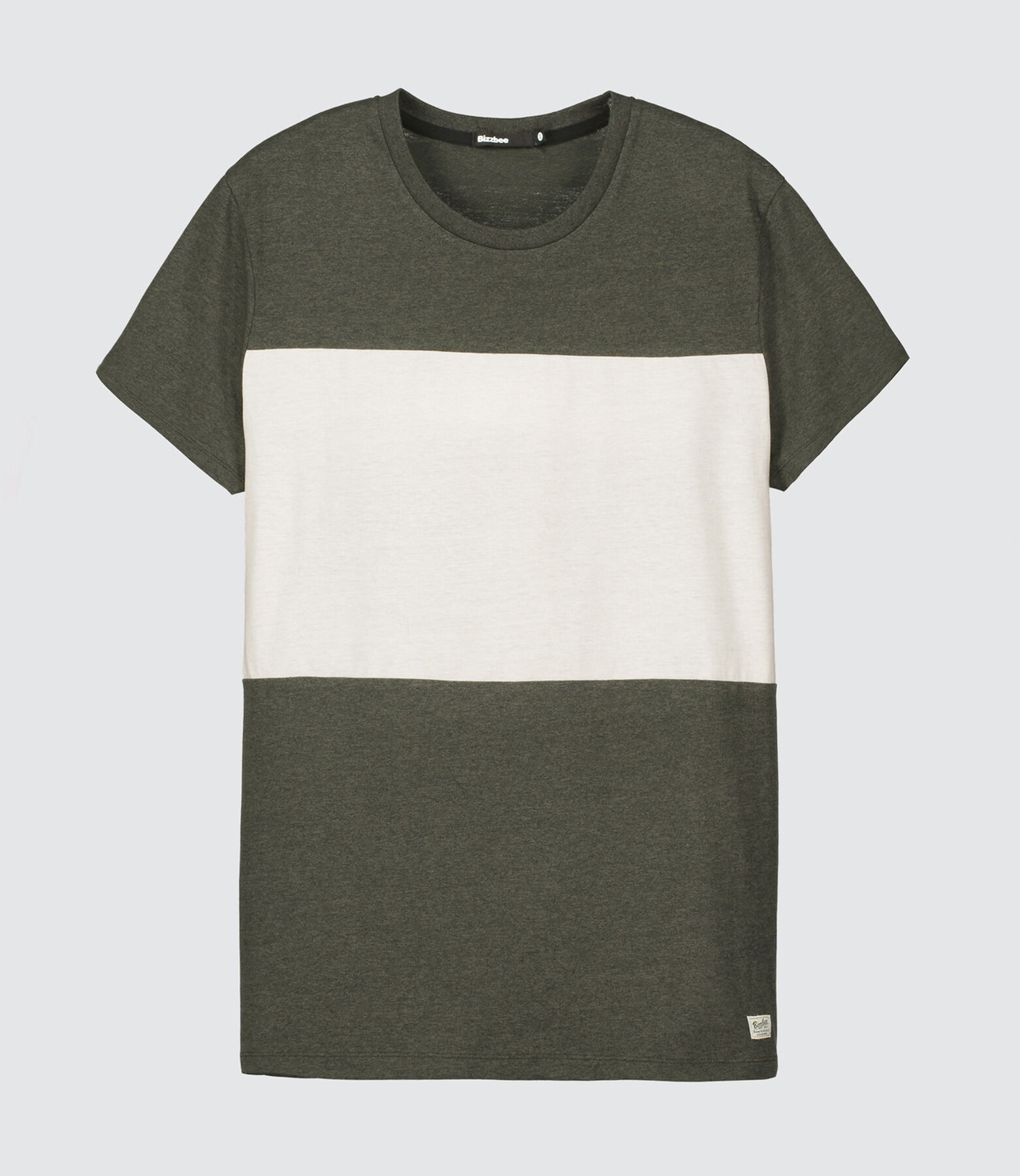 T-shirt color-block