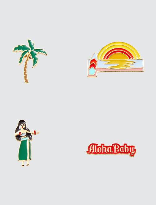 Pins Hawai femme