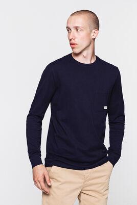T-shirt en coton pique poche poitrine issu de l'ag