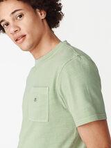 T-shirt uni loose et lourd