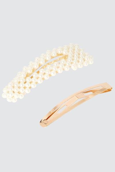 Lot de 2 pinces perles