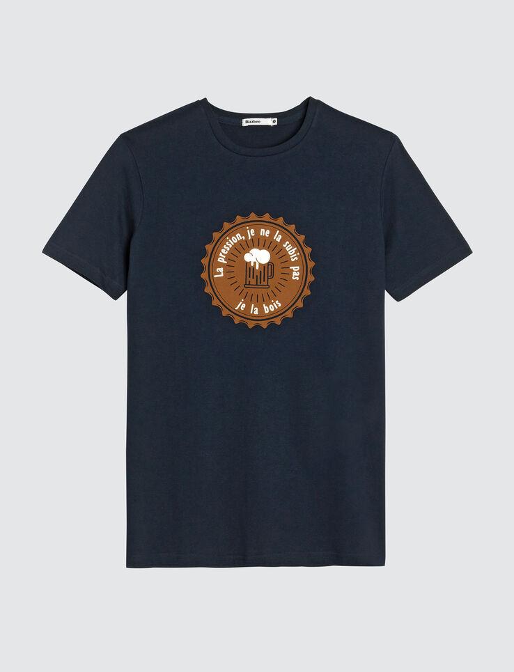 """T-shirt message """"La pression, je ne la subis pas,"""