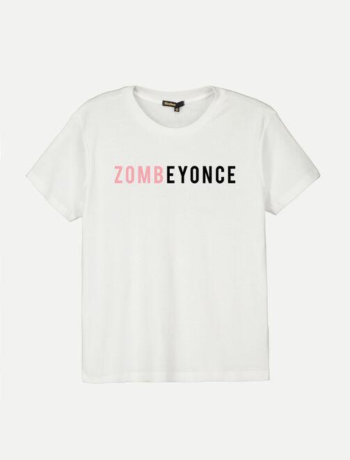 T-shirt Halloween Zombeyonce femme