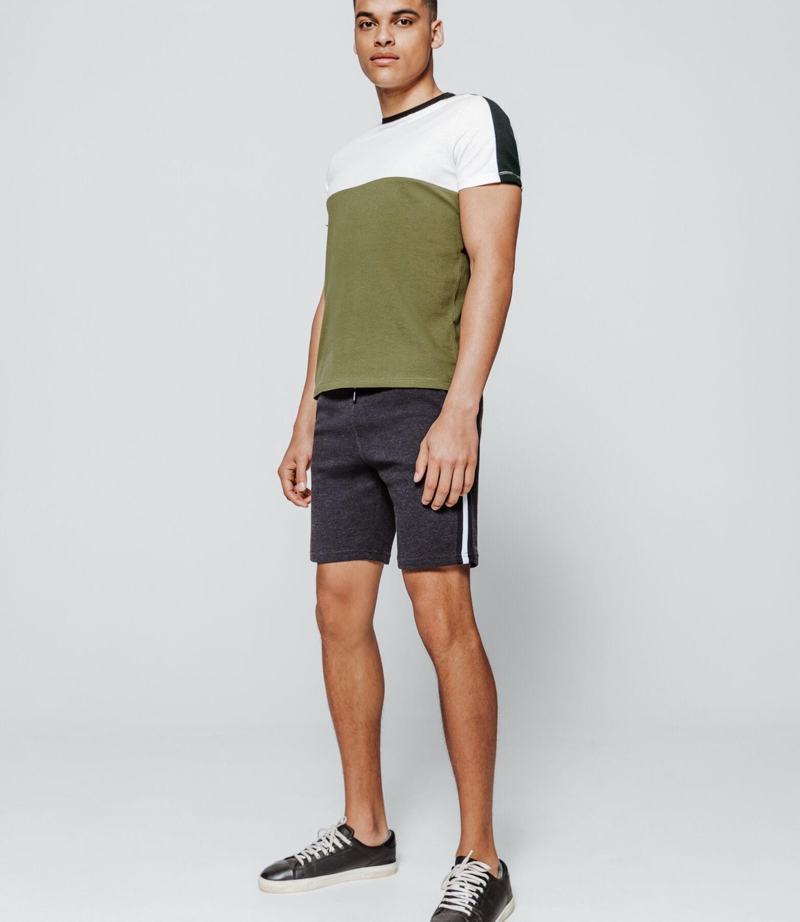 T-shirt bi-matière coton bio