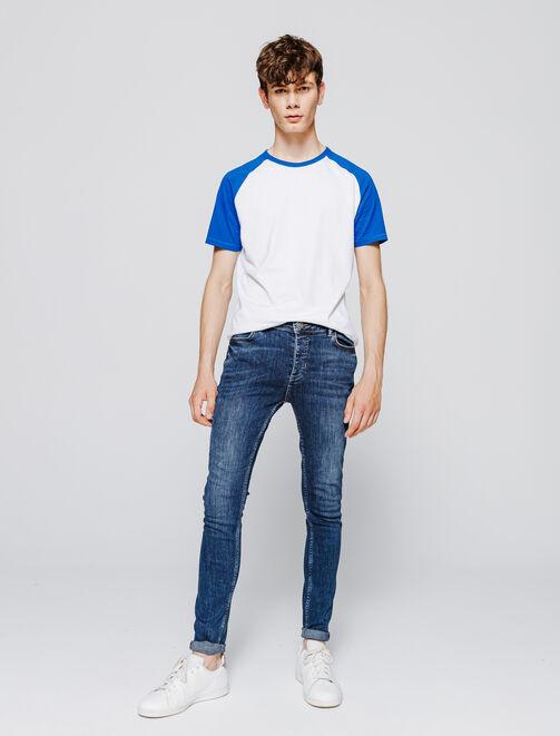 Jean ultra skinny stone homme