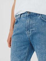 Jean skinny acid wash blue en coton bio