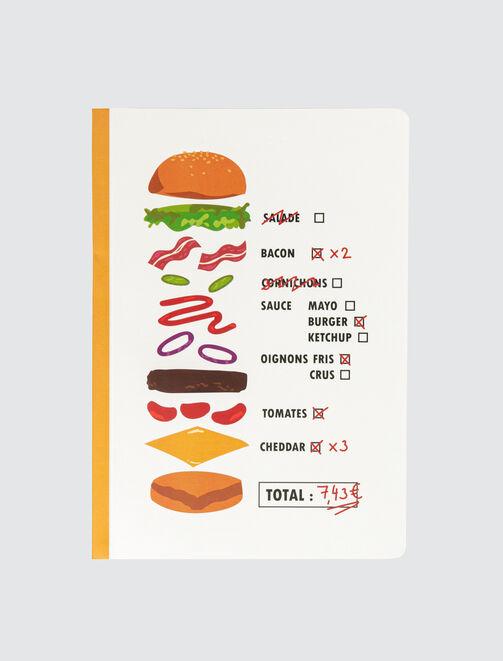 Cahier Fast Food Vintage femme