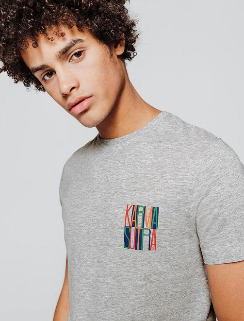 "T-shirt à message ""KARMA SUTRA"" homme"