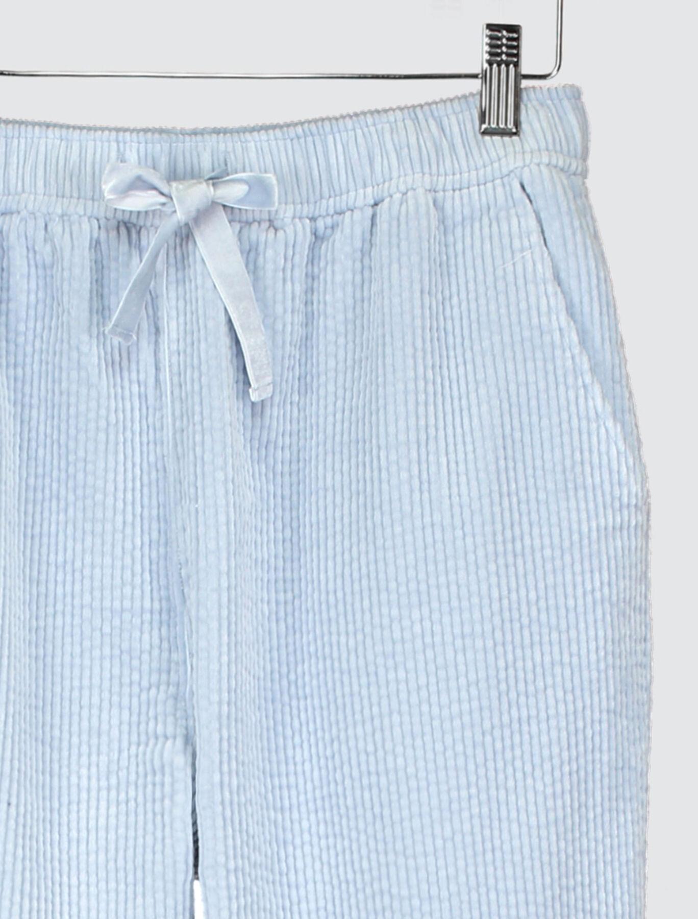 Pantalon Jogging  Velours Côtelé