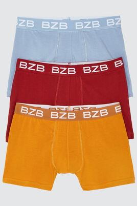 Boxers Colorama Coton IAB, lot*3
