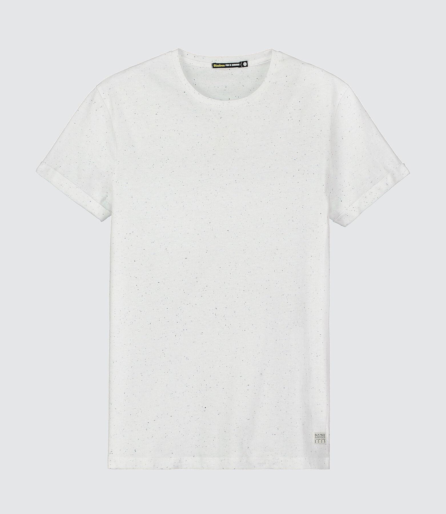T-shirt basique effet moucheté
