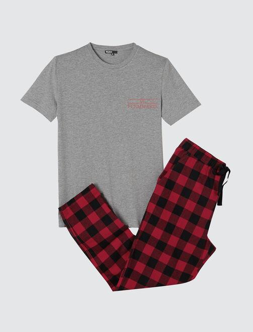 Pyjama Boy Tshirt et pantalon homme