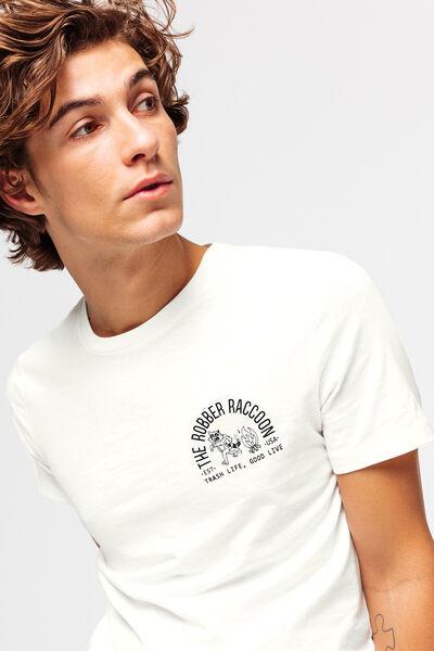 T-shirt avec print devant