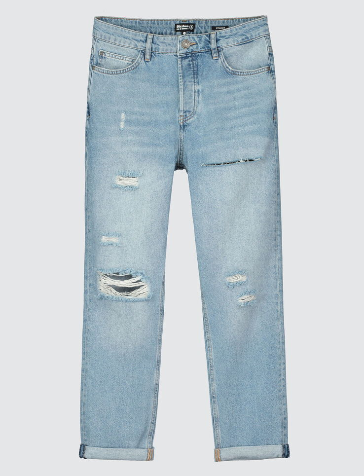 Jean straight cropped