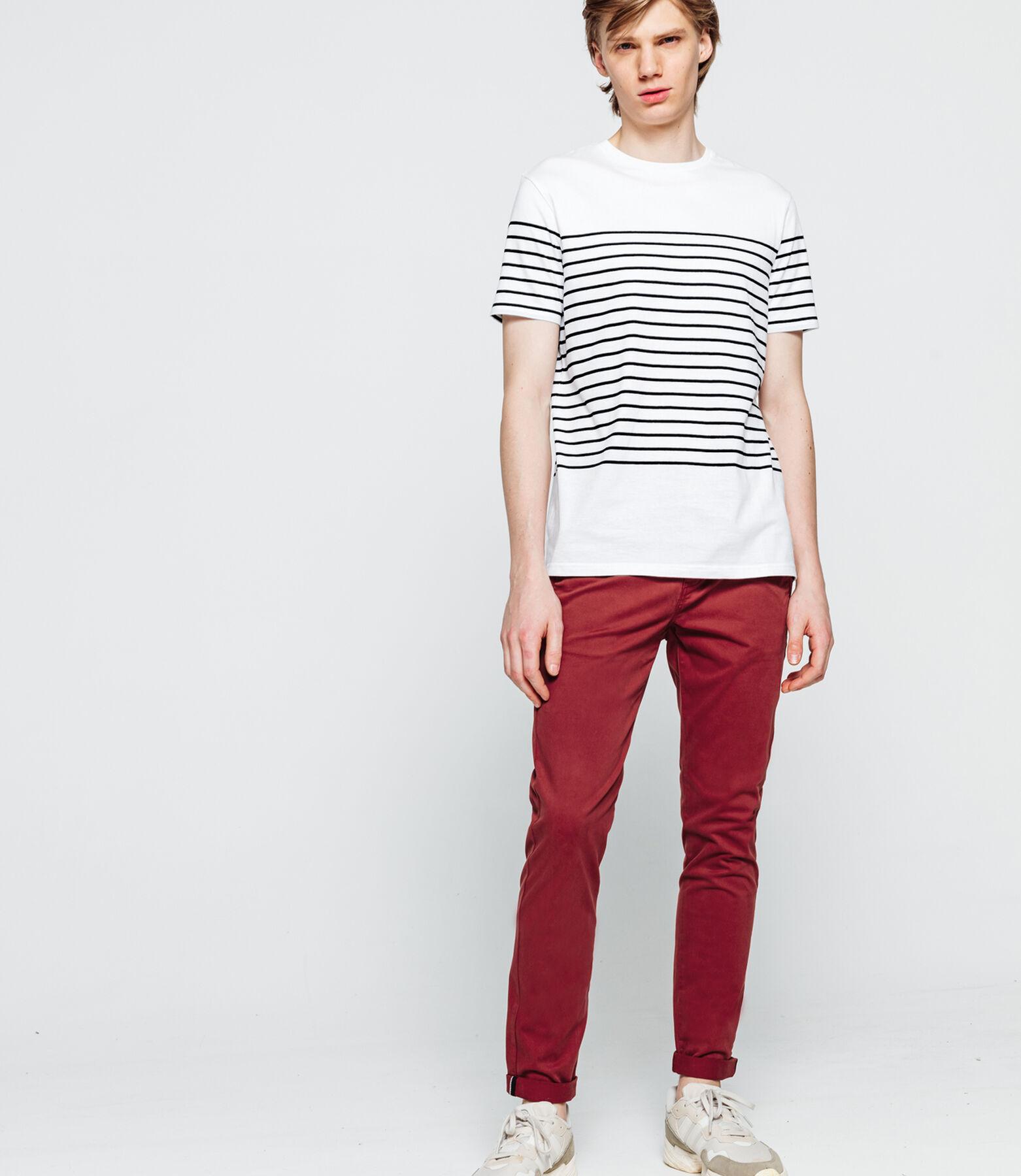 T-shirt marinière manche courtes