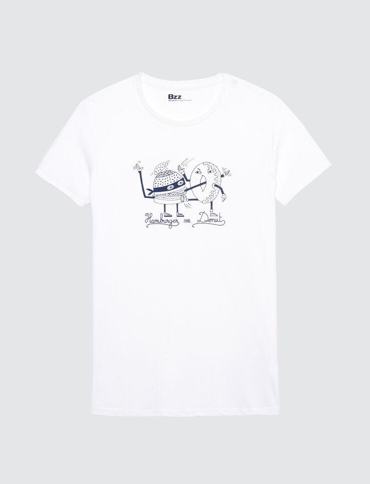 T-shirt dessin humour Burger