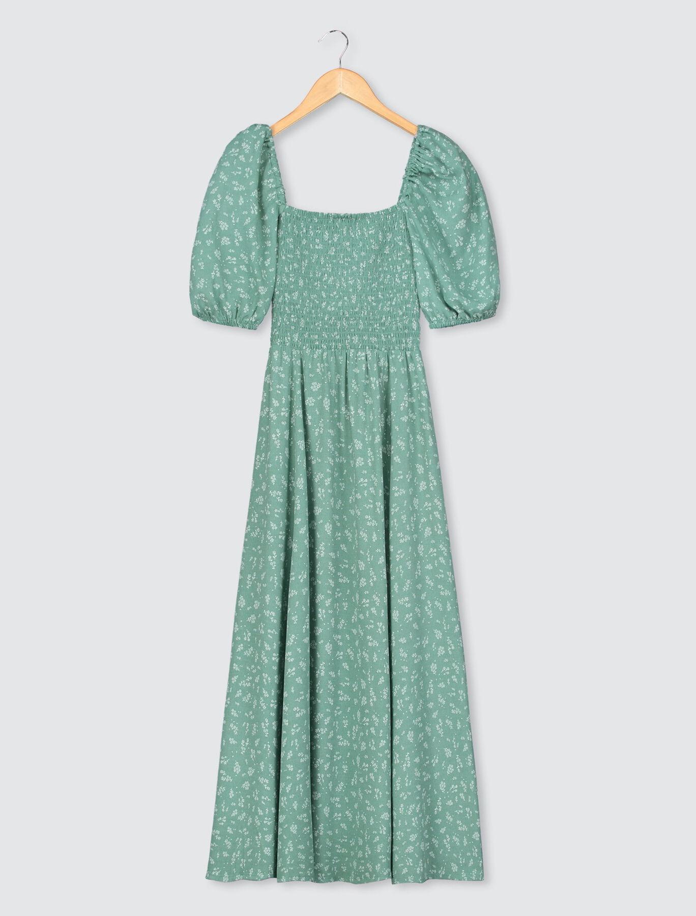 Robe Longue Fentes Cotés
