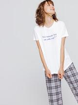 """T-shirt à message """" vous reprendrez bien une petit"""