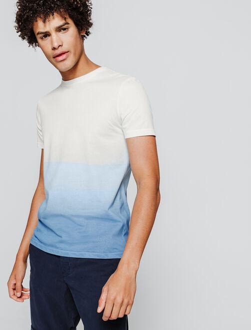 T-shirt Dip dye homme