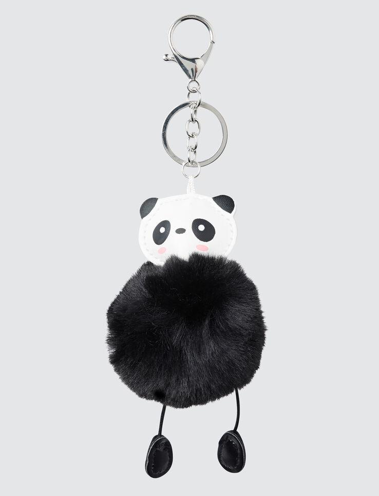 Porte Clé Fausse Fourrure Panda