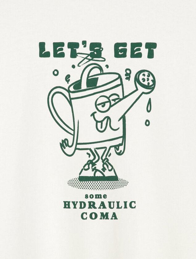 T-shirt imprimé humour