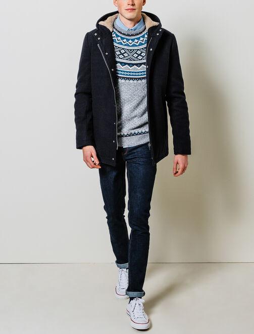 Manteau à Capuche homme
