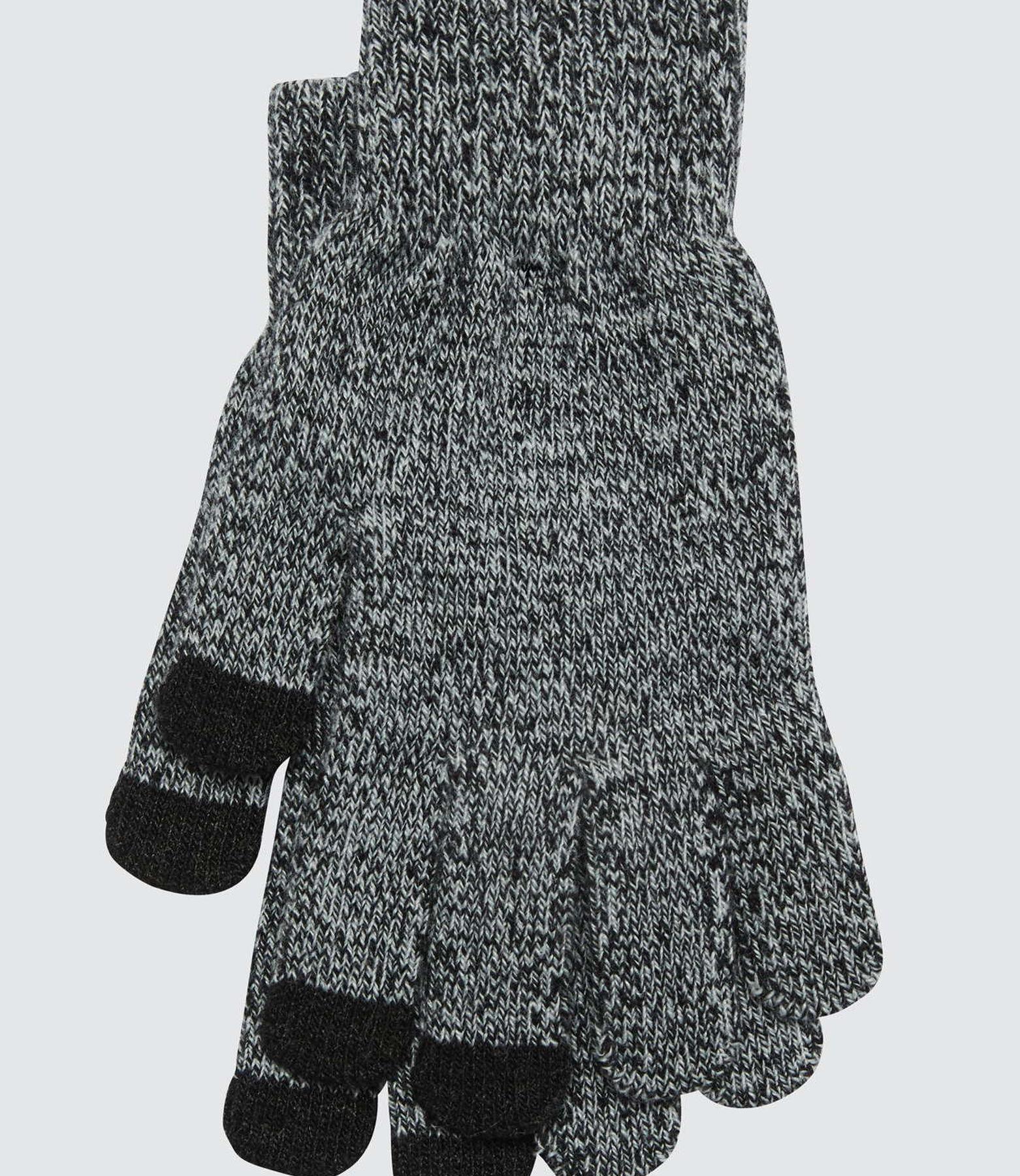 Gants en tricot tactiles