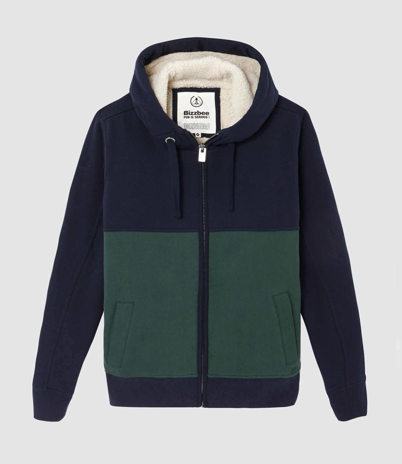 Sweat chaud doublé sherpa