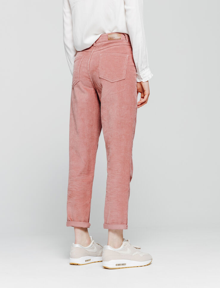 Pantalon MOM velours côtelé