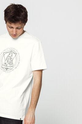 T-shirt loose avec imprimé poitrine