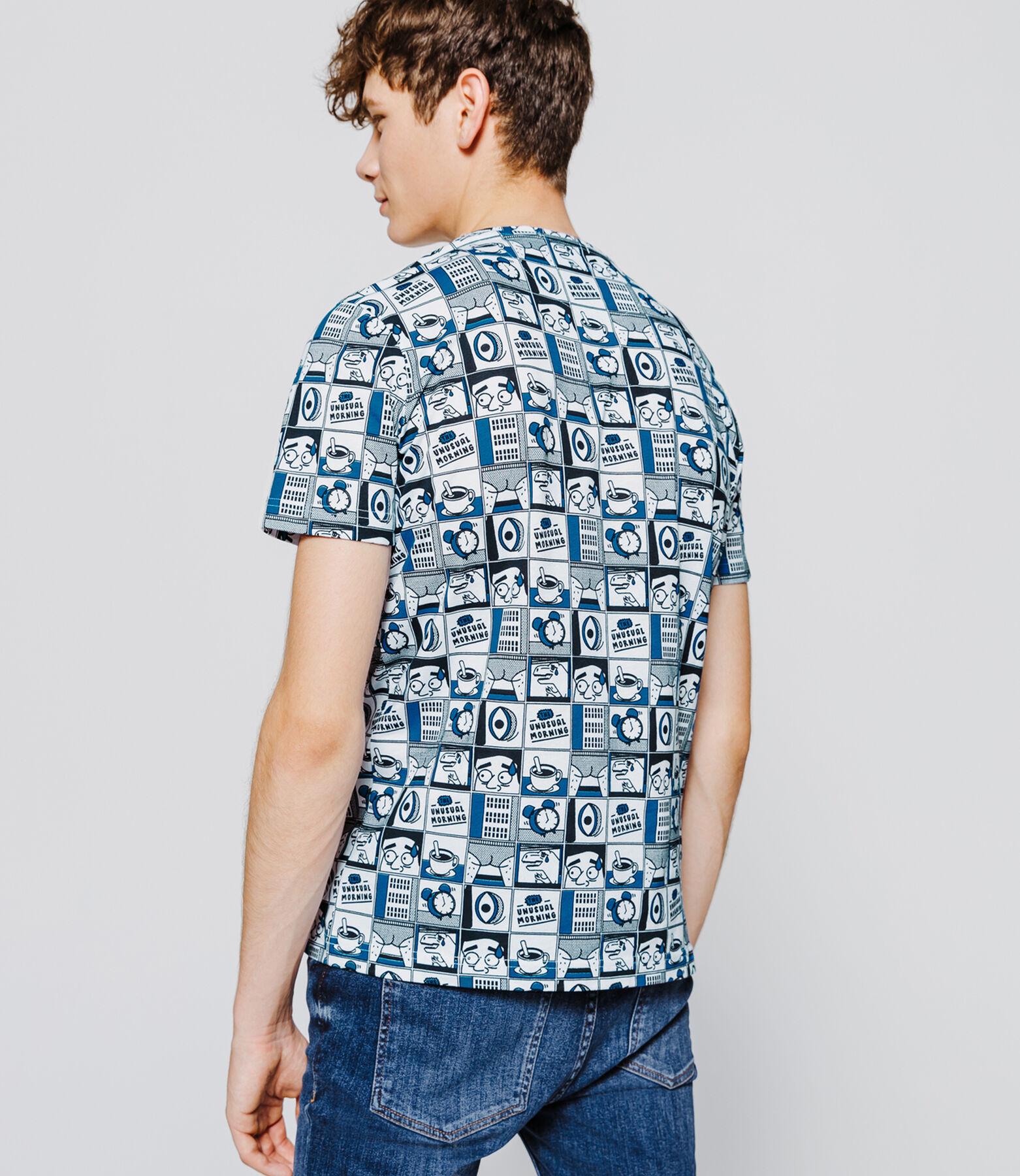 T-shirt imprimé esprit BD