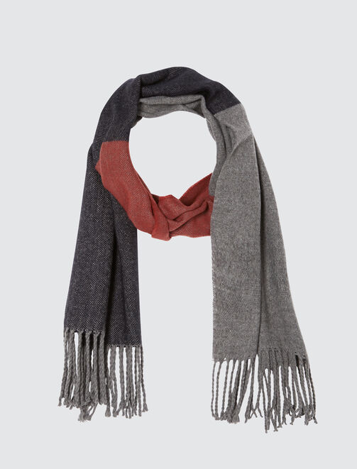 Foulard Chaud Colorblock  homme