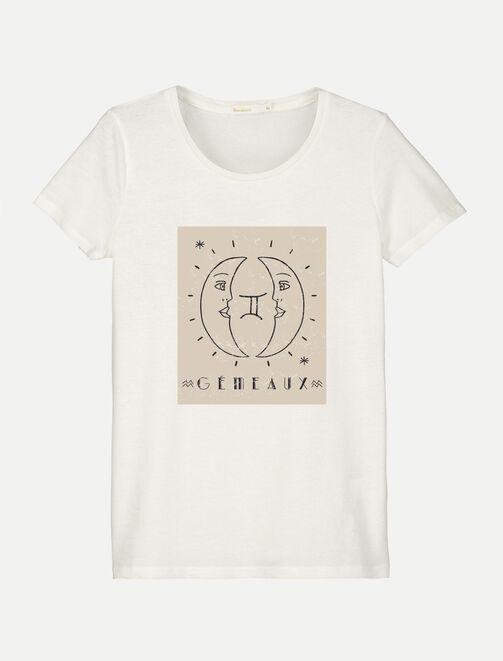 T-shirt gémeau  femme
