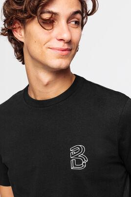 T-shirt logo graphique - jersey lourd