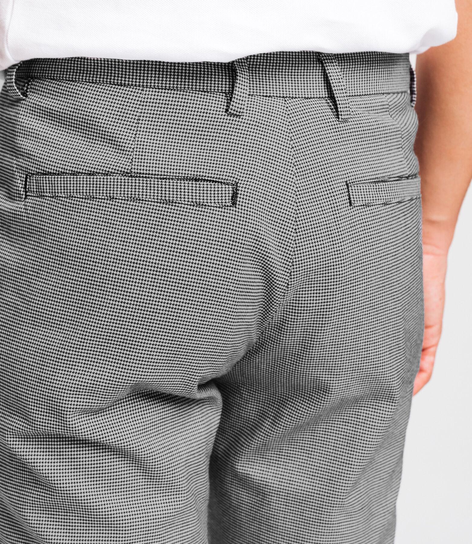 Pantalon à pince pied de puce
