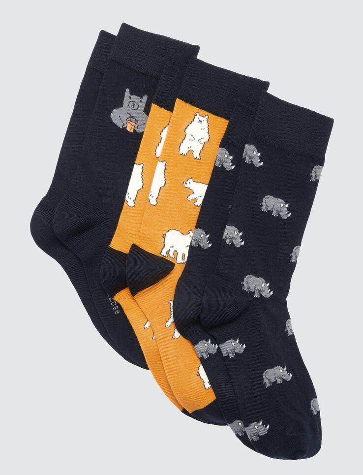Lots de chaussettes animaux