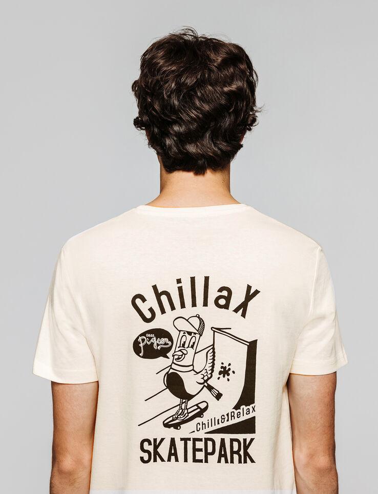 T-shirt print devant dos