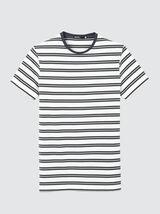 T-shirt à rayures en coton bio