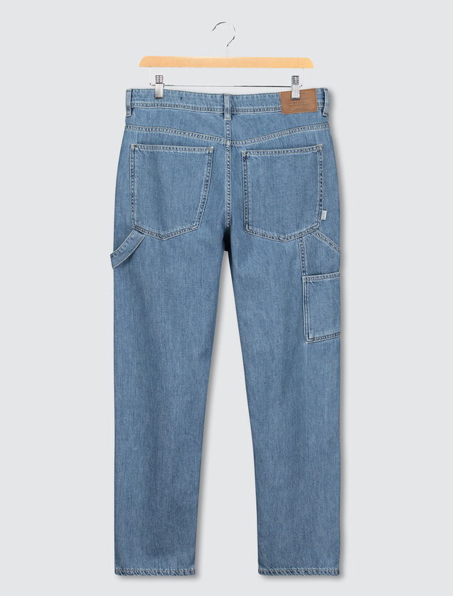 Jean straight worker