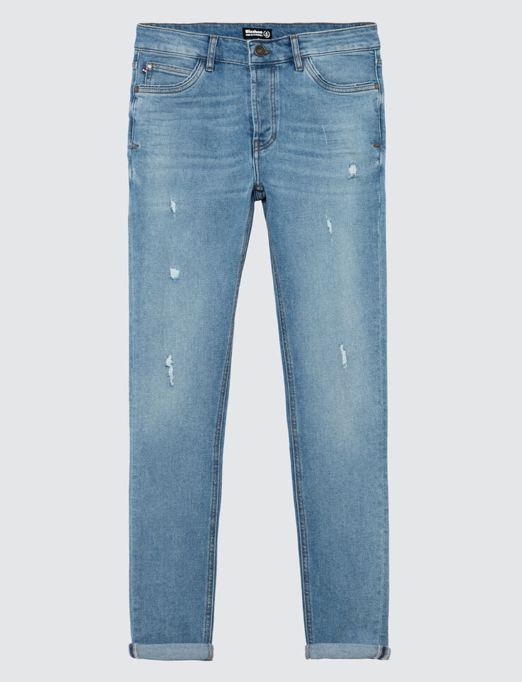 Jean skinny stone light