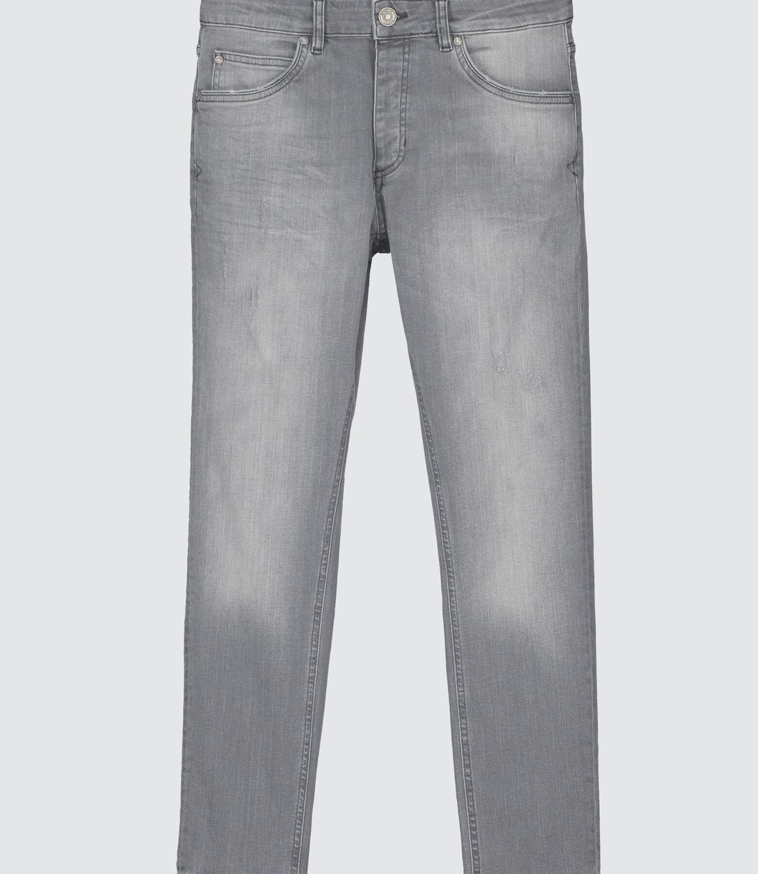 Skinny raccourci gris