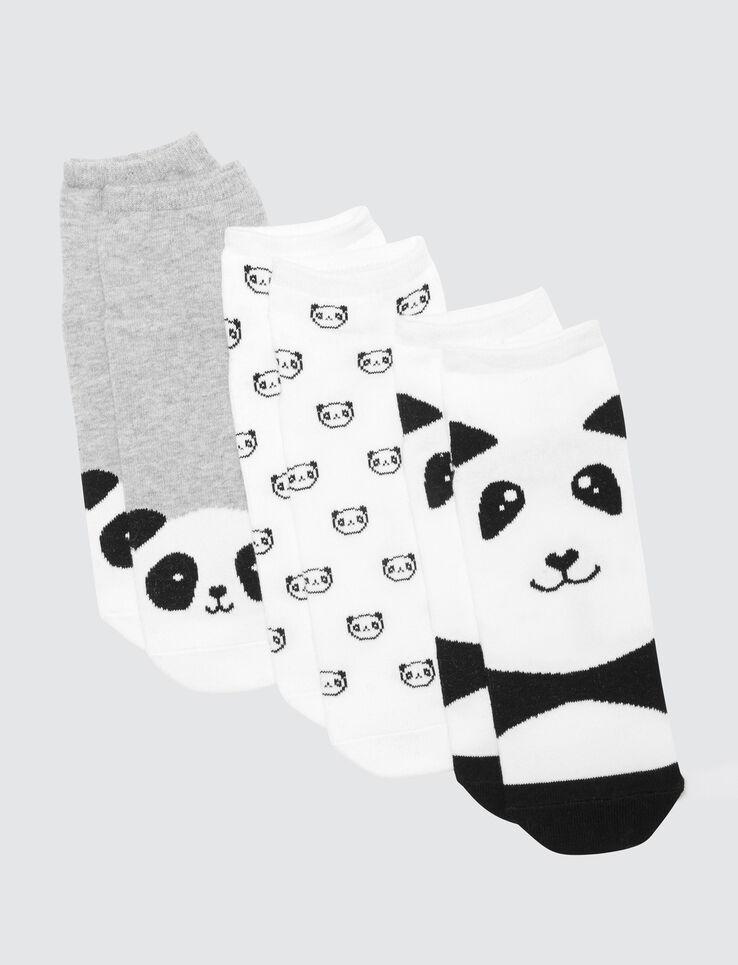 Lot de socquettes Panda