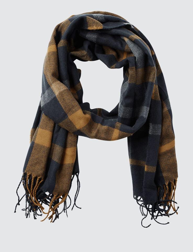 Foulard chaud grands carreaux