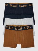 Boxers Unis Coton IAB Lot*3