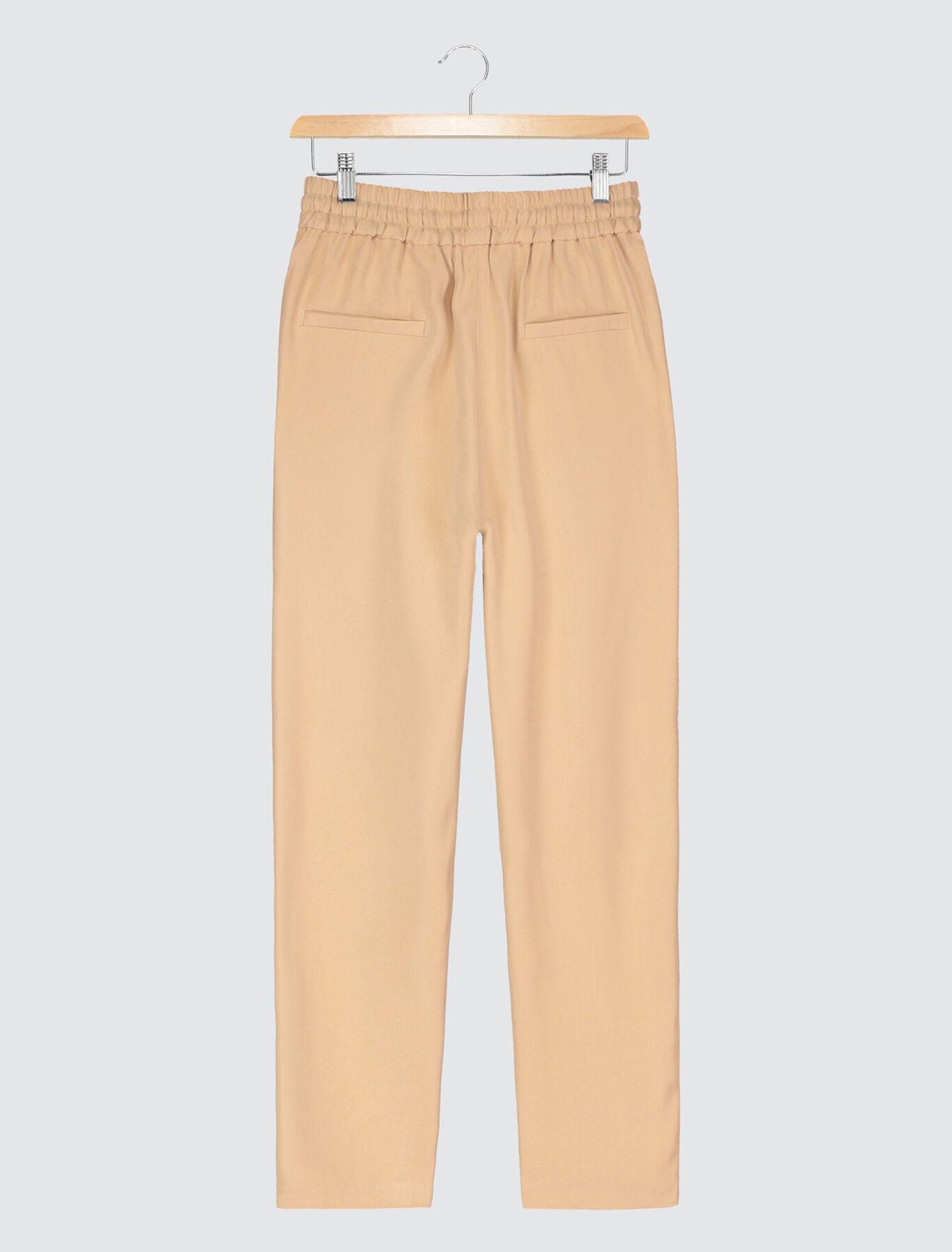 Pantalon Coordonné Taille Elastiquée
