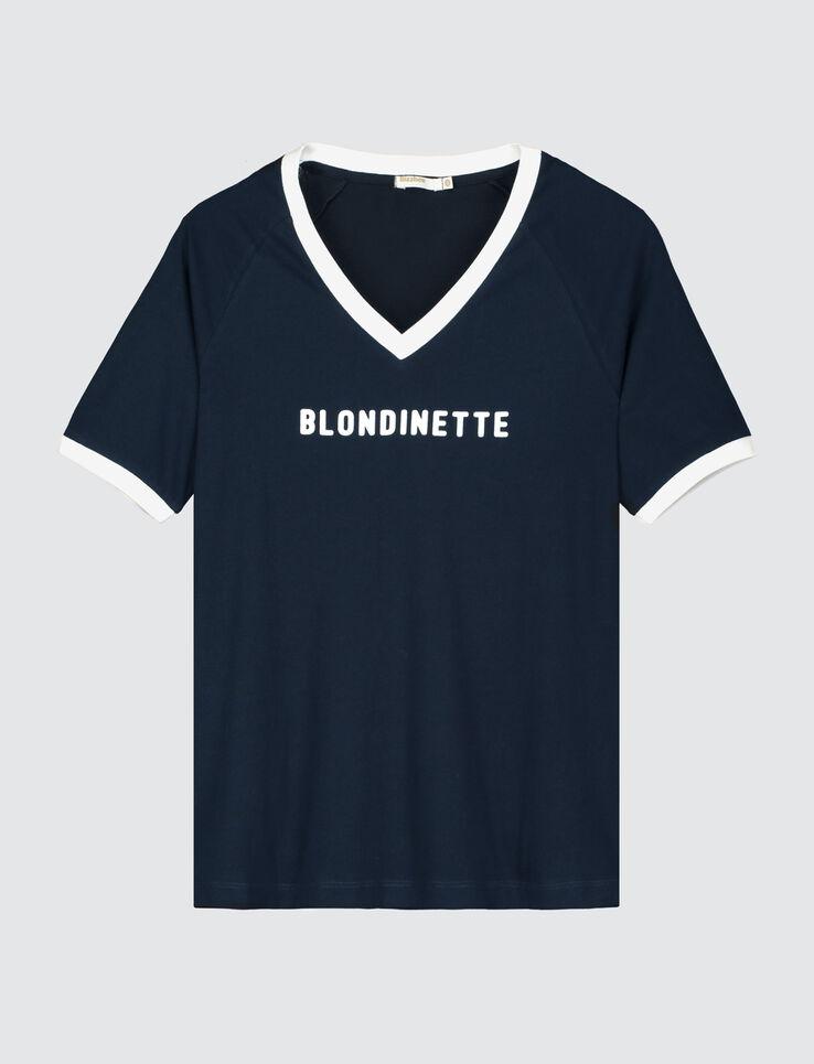 """T-shirt à message """" BLONDINETTE"""""""