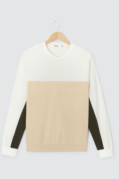 T-shirt ML colorblock